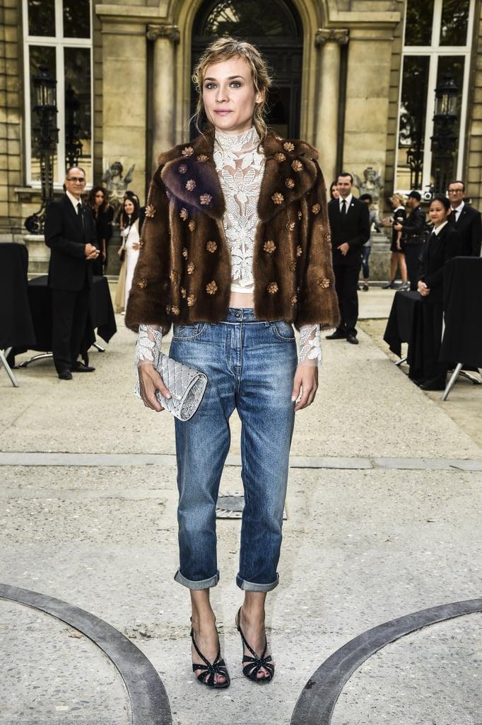 And Diane Kruger Showed Off a Similar Option at Valentino