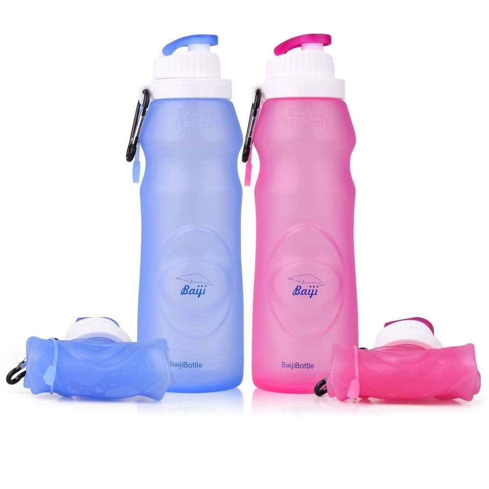A Take-Anywhere Water Bottle: Collapsible Water Bottles