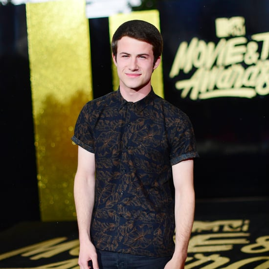 Dylan Minnette at the MTV Movie and TV Awards 2017