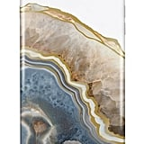 Nicole Miller Blue/Gold Agate iPhone 7 Plus Phone Case