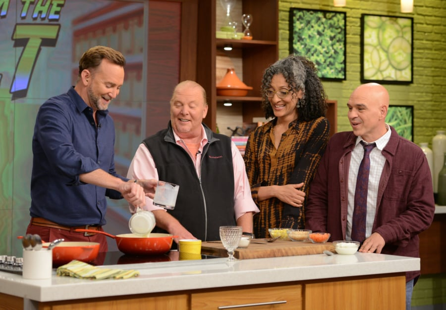 The Chew behind the scenes of abc's the chew | popsugar food