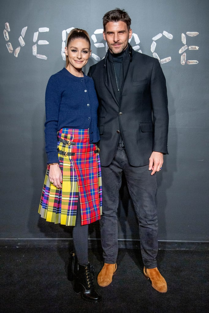 Olivia Palermo Attended the Show Alongside her Husband, Johannes Huebl