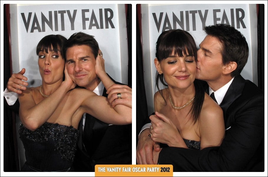 Vanity Fair Oscars Party 2012 Photo Booth Celebrity Pictures