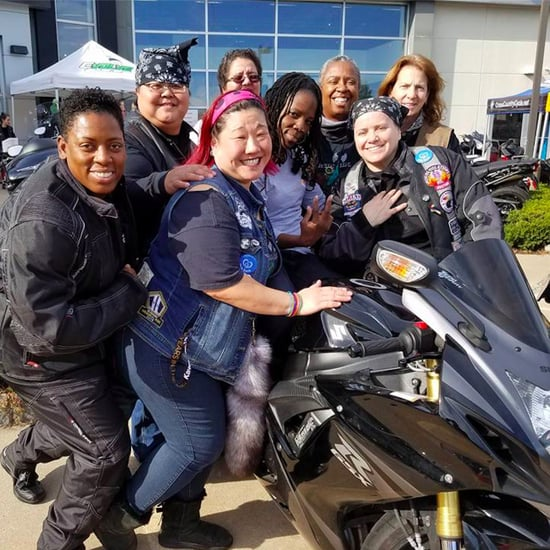 Female Motorcycle Club Delivers Breast Milk