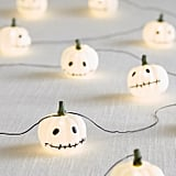 Stitched Pumpkin LED Glimmer Strings