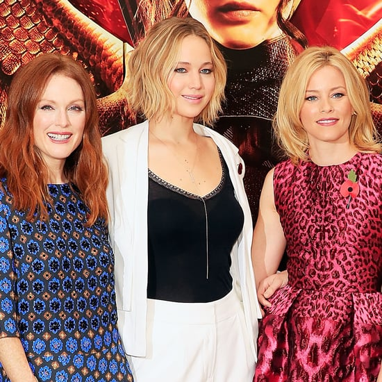 Mockingjay Part 1 Cast Promoting in London Pictures