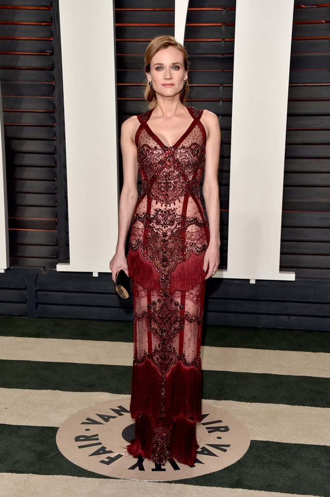 Vanity Fair Oscars Party Dresses 2016
