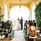 This Intimate Wedding in the Tuscan Hills of Italy Is the Definition of Romantico