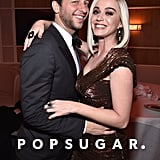 Pictured: Derek Blasberg and Katy Perry