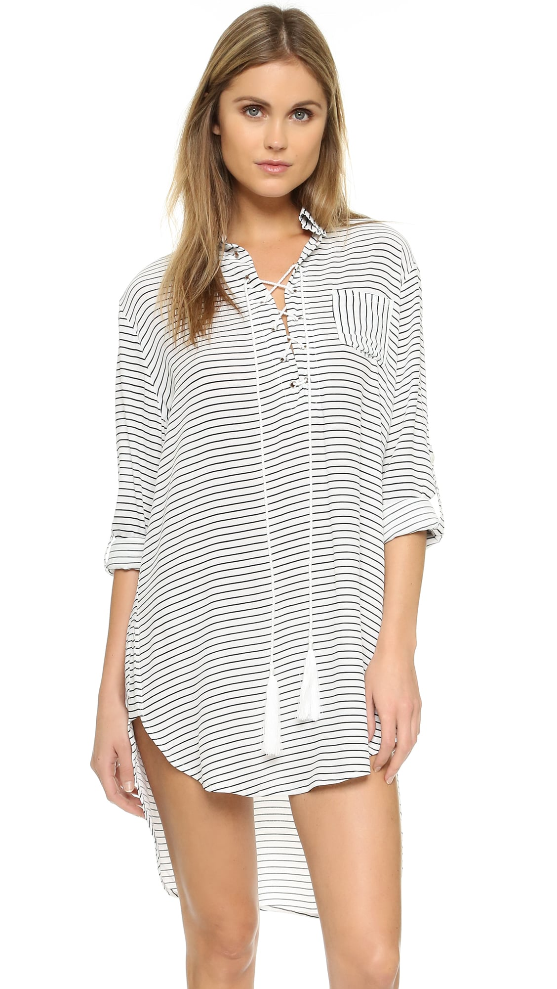 FAITHFULL THE BRAND Walker Shirt Dress ($95, originally $135)