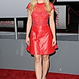 Kristen Bell had a red minidress in LA.