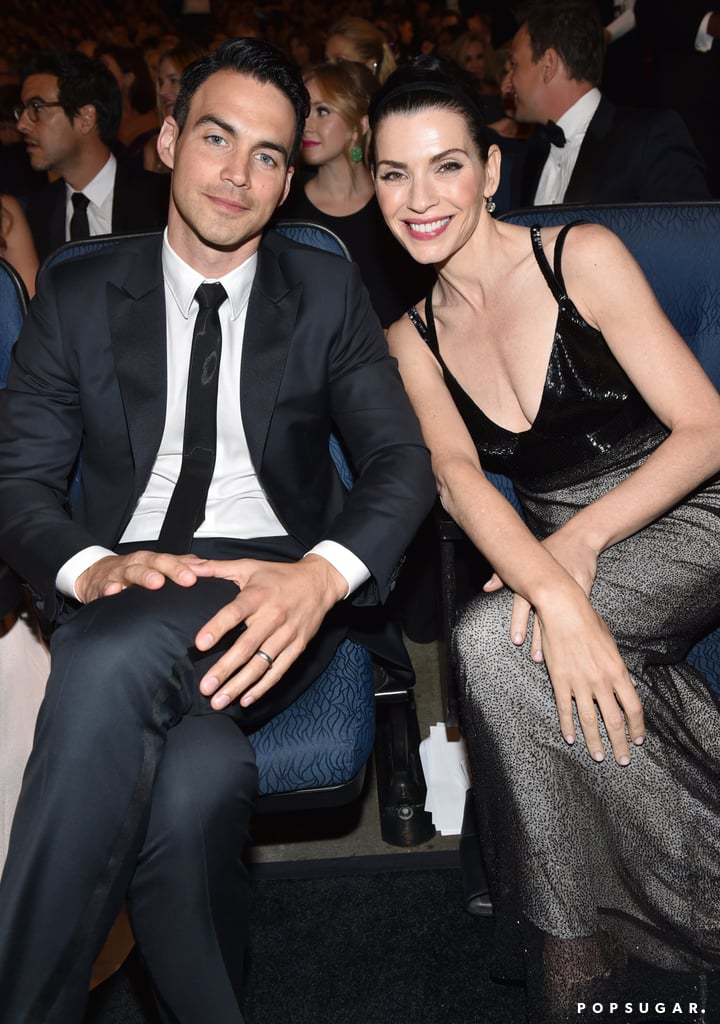 Julianna Margulies With Her Husband at the Emmys 2014 ...