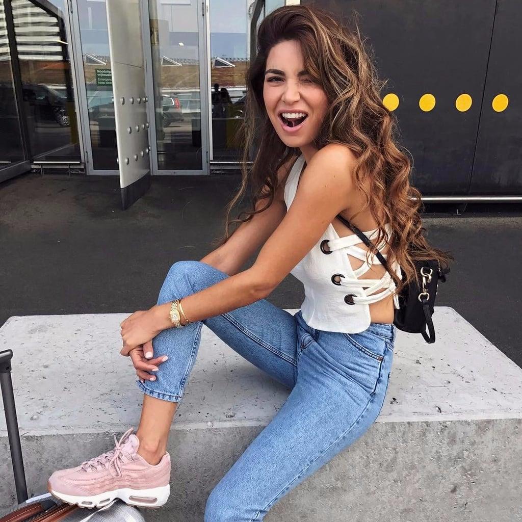 a23cbeb6fb How to Wear Nike AirMax Sneakers | POPSUGAR Fashion