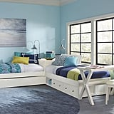 Hillsdale Pulse L-Shaped Twin Bed with Storage and Trundle