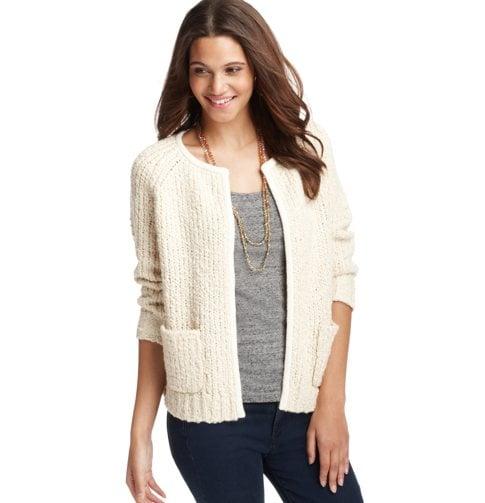 A Sweater Jacket