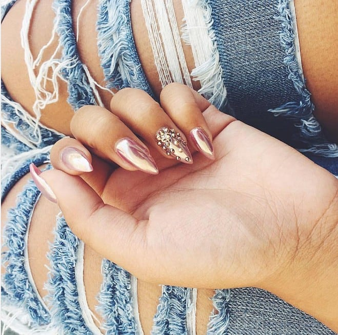 Stiletto Nail Art Ideas | POPSUGAR Beauty
