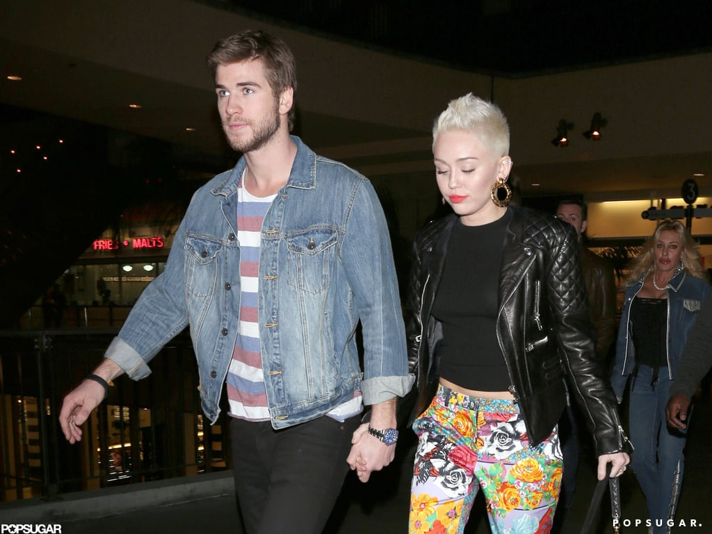 Miley Cyrus and Liam Hemsworth attended Noah Cyrus's birthday.