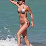 Julianne got out of the water in Miami in March 2013.