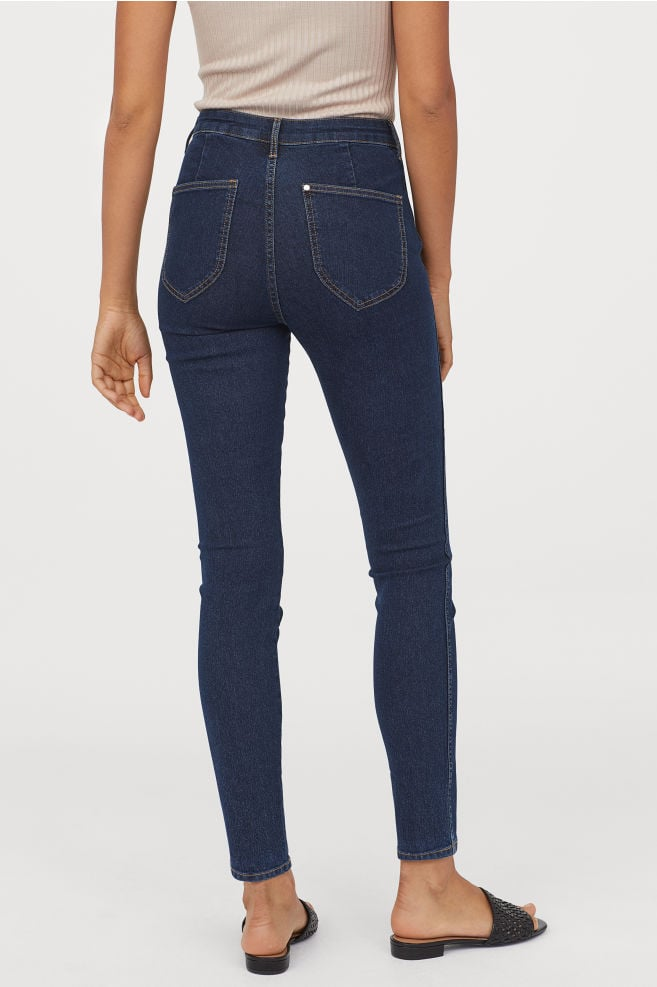 Skinny High Ankle Jean