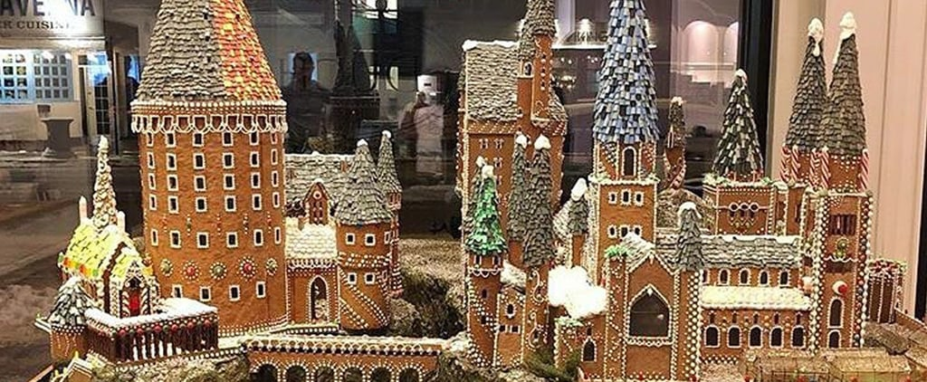 Harry Potter Gingerbread Hogwarts Castle
