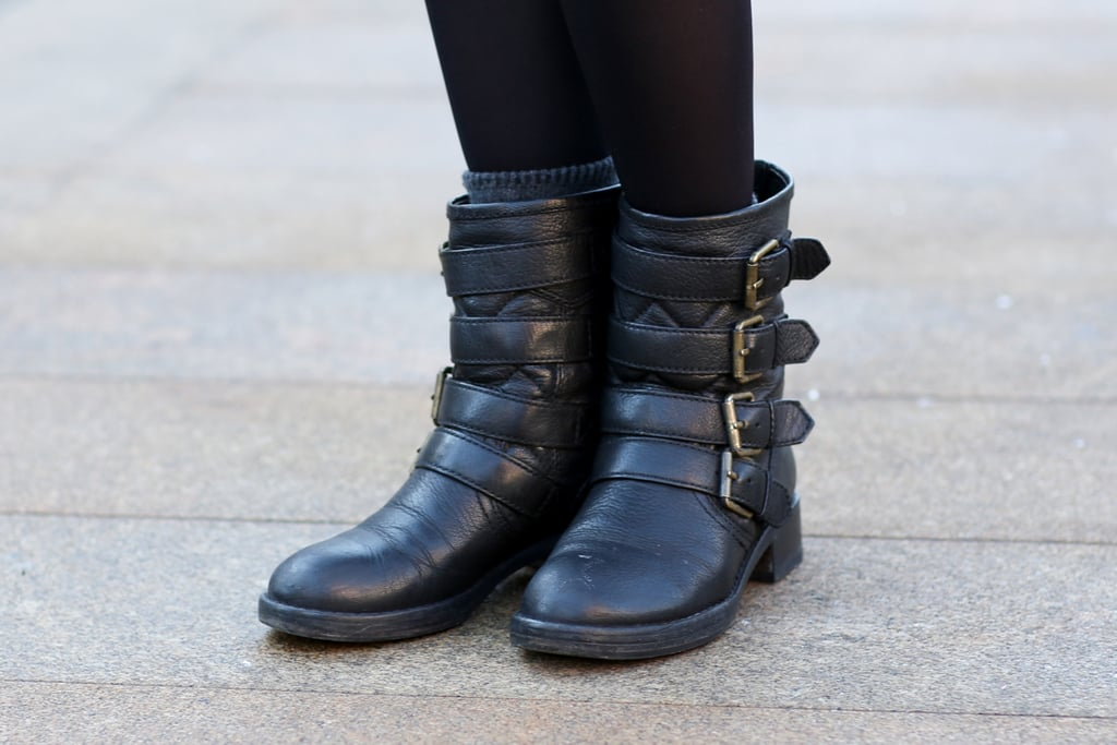 We're always in favor of a great biker boot.
