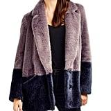 Just Quella Faux Fur Coat