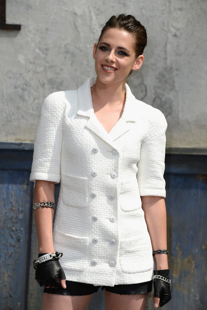 Kristen Stewart's Tattoo at Chanel Show in Paris 2013