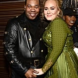 With Busta Rhymes.