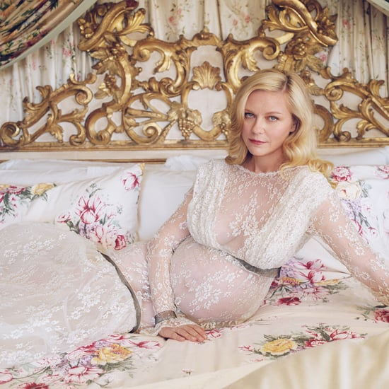 Kirsten Dunst Announces 2nd Pregnancy in White Rodarte Dress