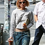 Kate Mara stepped out in NYC on Monday.