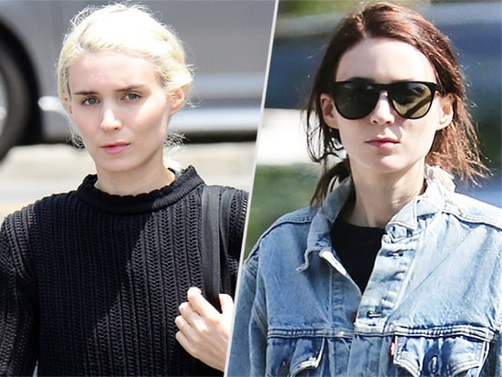 Bye Bye, Blondie! Rooney Mara Is Officially a Brunette Again