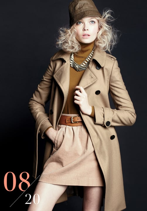 A classic trench never goes out of style and looks good over anything.