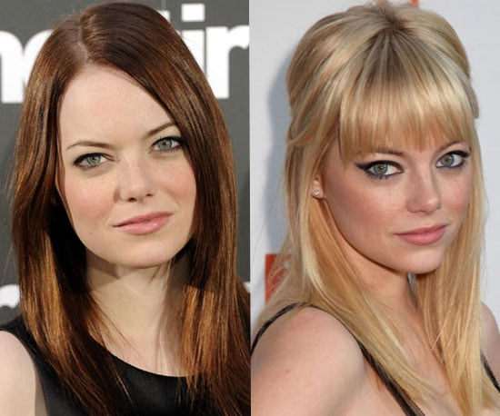 Which Hair Colour Do You Prefer on Spiderman and Easy A Actress Emma Stone?