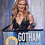 November: She Was Honored With the Actress Tribute Award at the Gotham Awards