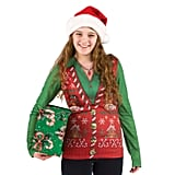 Women's Costume Ugly Christmas Sweater Vest