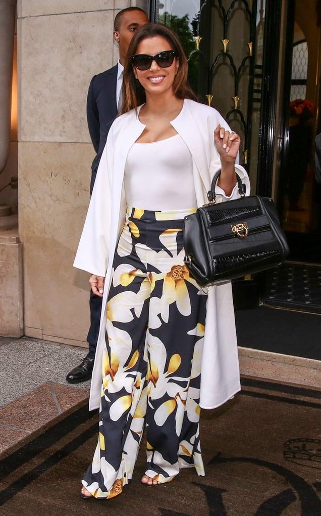 Eva Longoria's Street Style in France May 2016