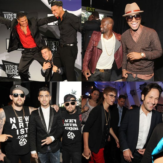 Hot Guys at MTV VMAs 2011