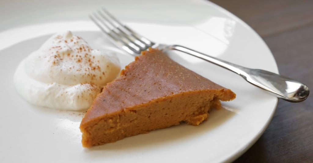 Slow-Cooker Pumpkin Pie