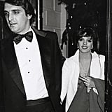 Mark Gero and Liza Minnelli attend Woody Allen's New Year's Eve soiree to ring in the '80s.