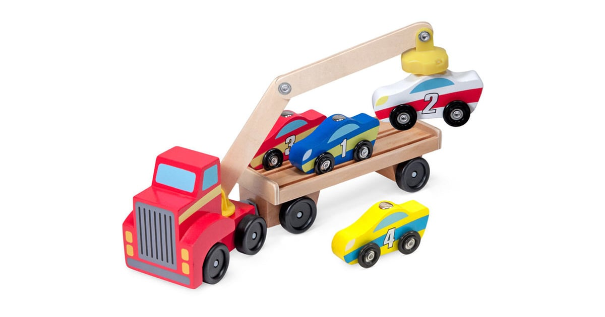 Toy Cars For 9 Year Olds : Melissa doug magnetic car loader toy gift guide for
