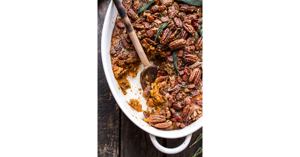 Bourbon Sweet Potato Casserole With Bacon and Pecans ...
