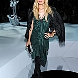 Rachel Zoe attended the Marc Jacobs show.