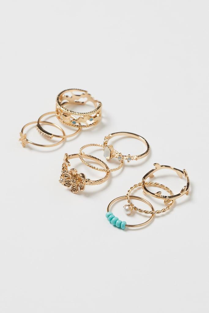 10-pack Rings