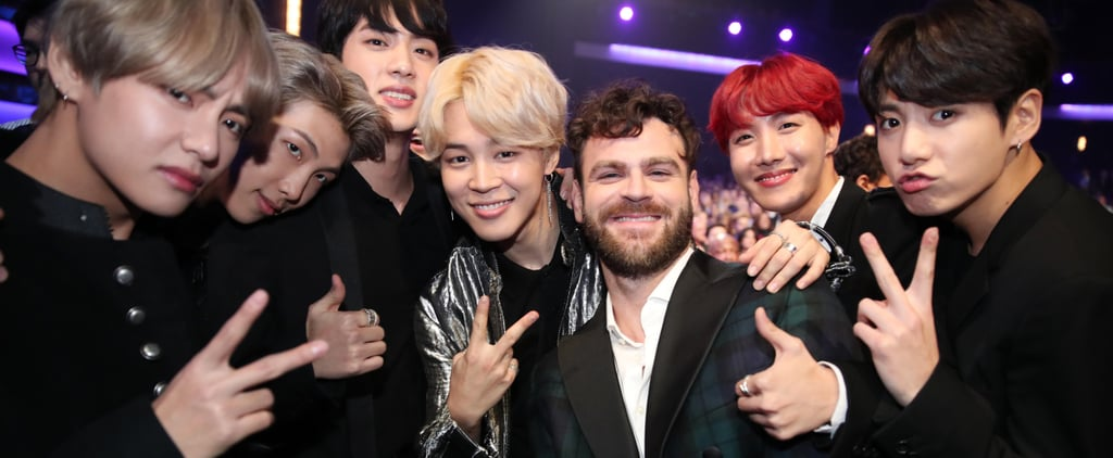 BTS Freaked Out Over Every Star at the AMAs, and It's Insanely Cute