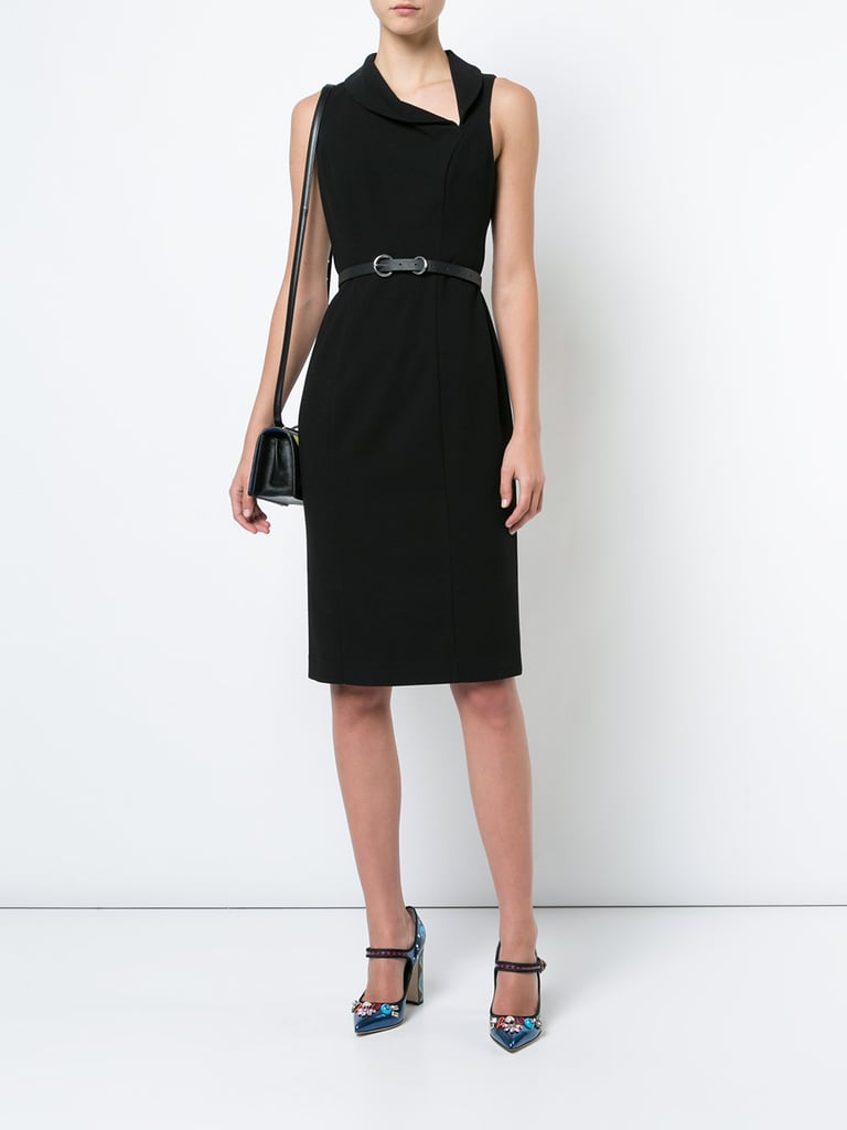 Meghan Markle Black Halo Dress Popsugar Fashion Uk