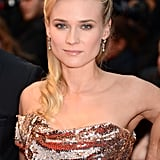 Diane Kruger looked flawless in an ultrasparkly custom Vivienne Westwood dress at the Amour premiere.