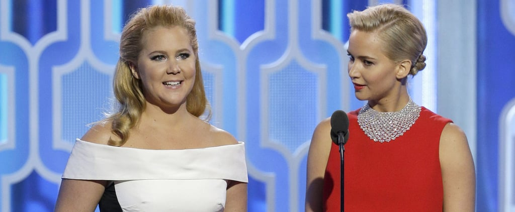Amy Schumer and Jennifer Lawrence's Baby Text Exchange