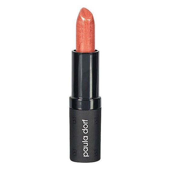 This shimmery, pumpkin-peach hue is a glam way to add some PSL into your makeup routine. Pair it with a matte brown eye shadow look and lots of mascara.  Paula Dorf Lip Color Cream in Pumpkin Spice ($22)