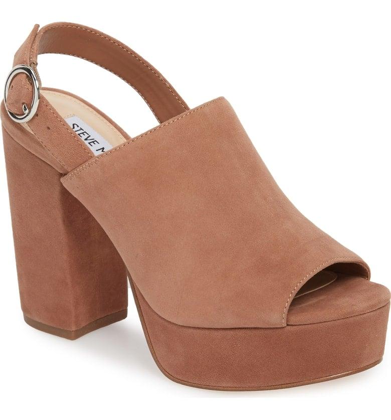 Steve Madden Carter Slingback Platform Sandals