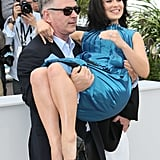 Alec Reenacts His Classic Cannes Move With Pregnant Hilaria